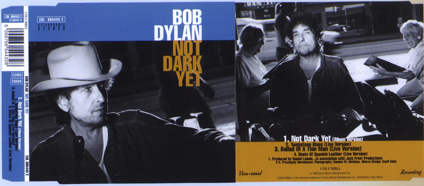 Bob Dylan - Not Dark Yet (CD Single) - Page 2